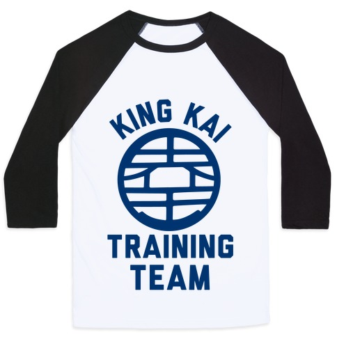 King Kai Training Team Baseball Tee