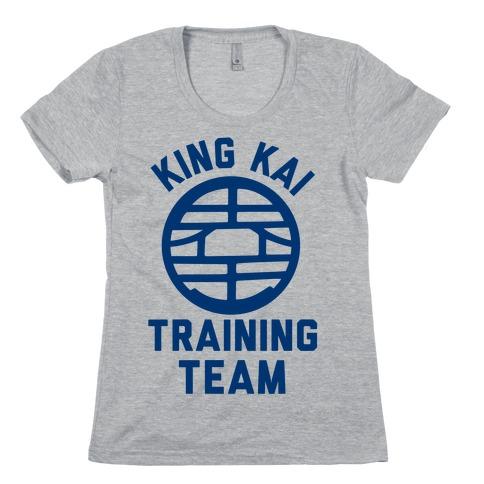 King Kai Training Team Womens T-Shirt
