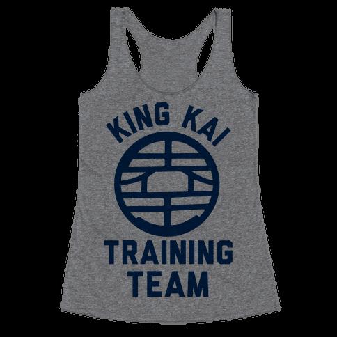 King Kai Training Team Racerback Tank Top