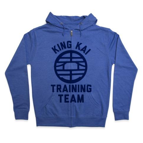 King Kai Training Team Zip Hoodie