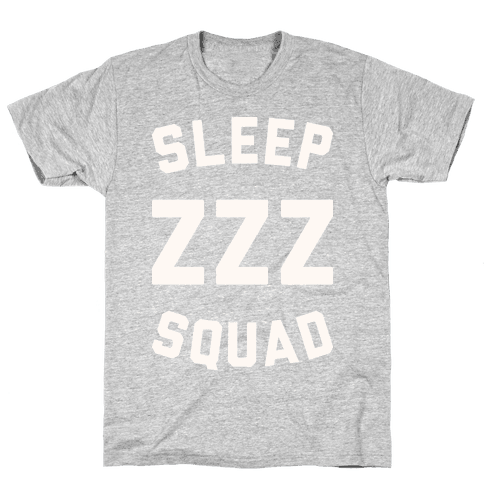 Sleep ZZZ Squad Mens T-Shirt
