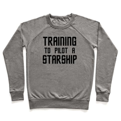 Training To Pilot A Starship Pullover