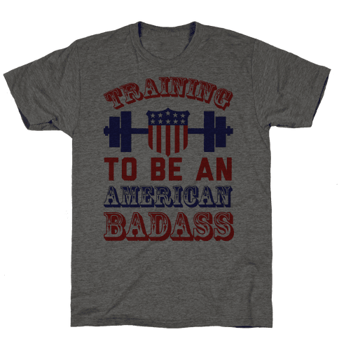Training To Be An American Badass