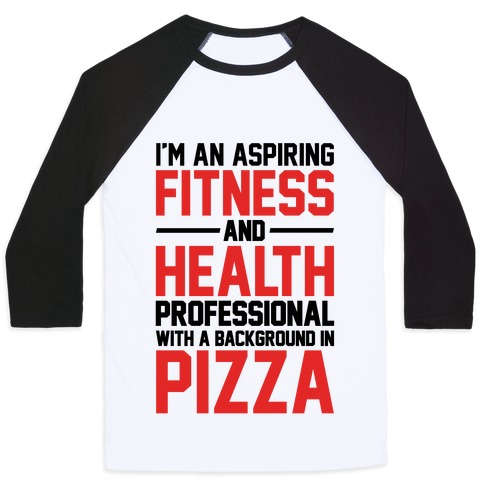 Professional Pizza Trainer Baseball Tee