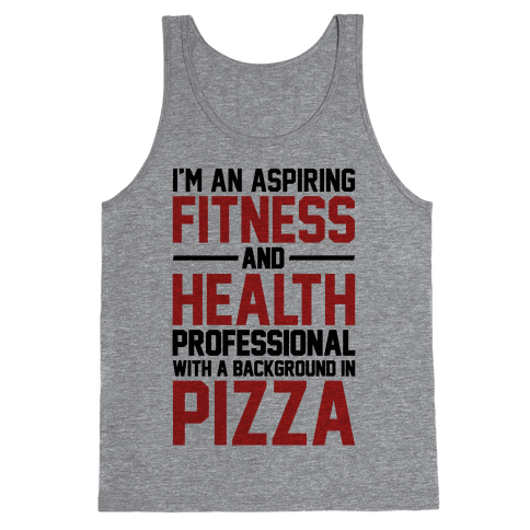 Professional Pizza Trainer Tank Top