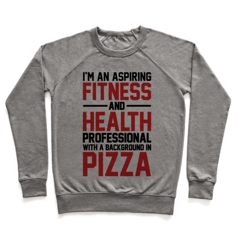 Professional Pizza Trainer Pullover