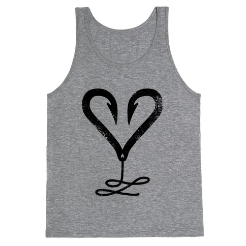 I Love Fishing Tank Top