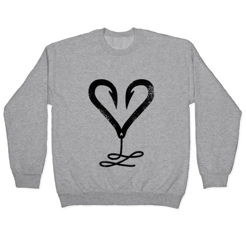 I Love Fishing Pullover