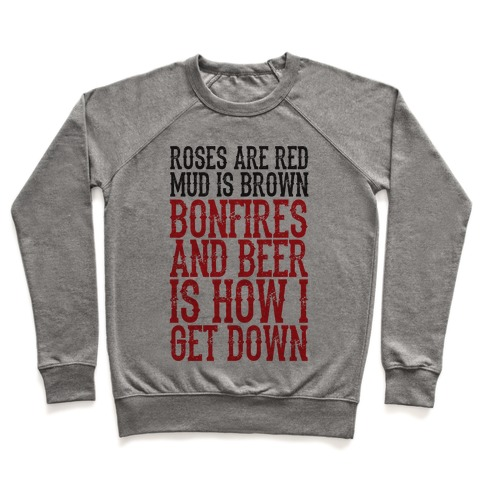Bonfires And Beer Pullover