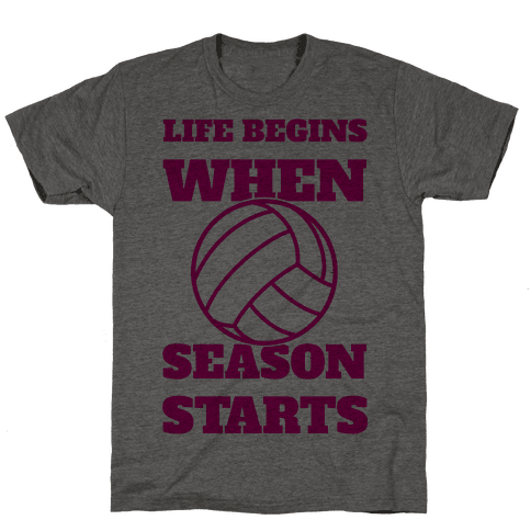 Life Begins When Volleyball Season Begins