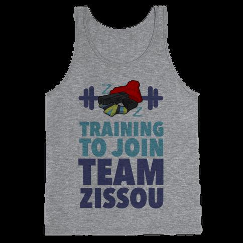 Training to Join Team Zissou Tank Top