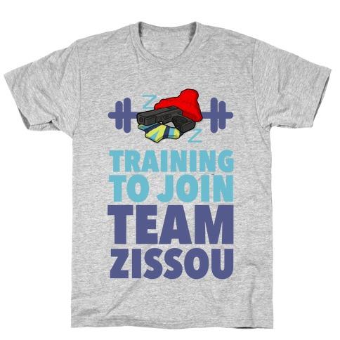 Training to Join Team Zissou Mens T-Shirt