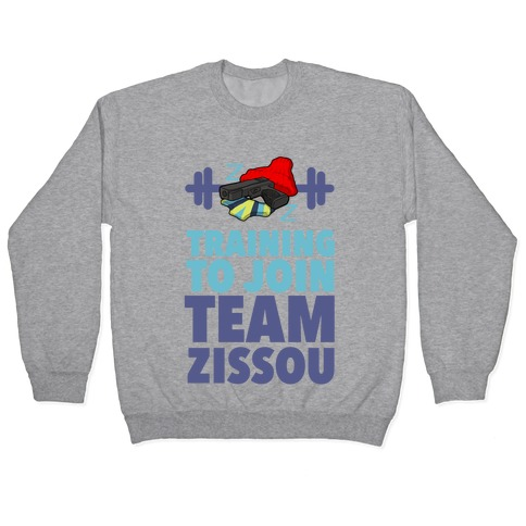 Training to Join Team Zissou Pullover