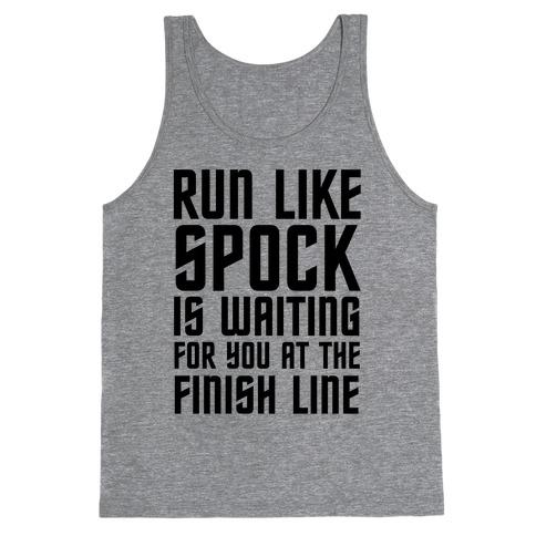 Run Like Spock Tank Top