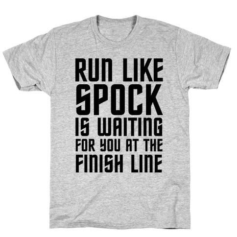 Run Like Spock T-Shirt