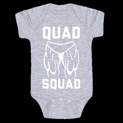 Quad Squad Baby Onesy