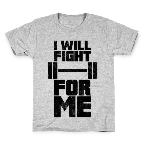 I Will Fight For Me (Vintage) Kids T-Shirt