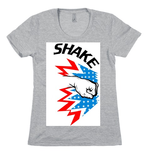 Shake and Bake (Athletic Pt.1) Womens T-Shirt