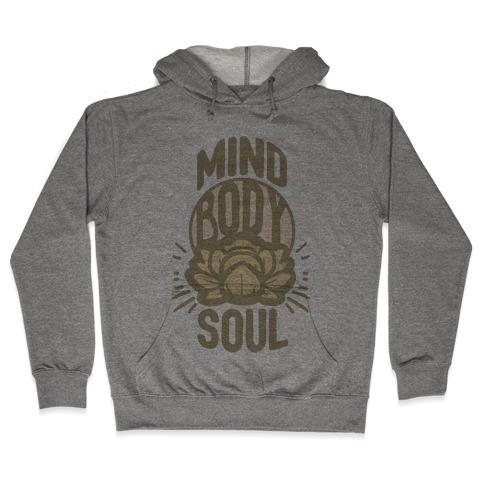 Mind Body Soul Hooded Sweatshirt