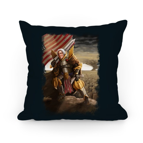 George Washington Paladin Pillow