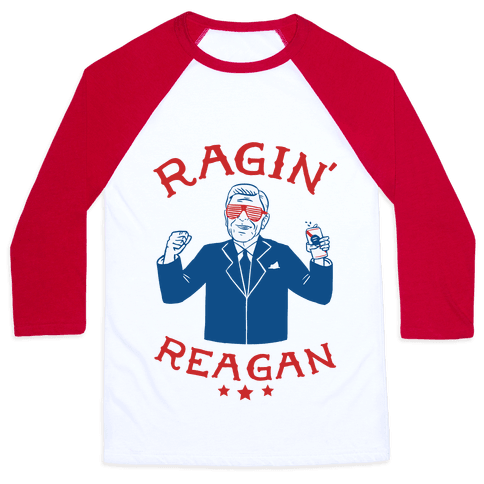 Human Ragin 39 Reagan Clothing Baseball