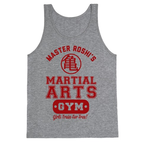 Master Roshi's Martial Arts Gym Tank Top
