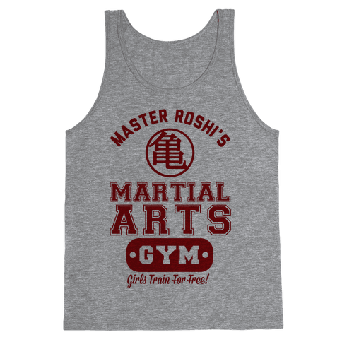 Master Roshi's Martial Arts Gym Tank Top