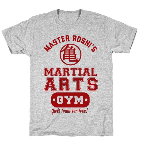 Master Roshi's Martial Arts Gym Mens T-Shirt