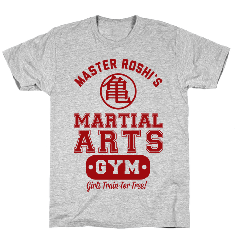 Master Roshi's Martial Arts Gym Mens T-Shirt