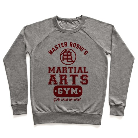 Master Roshi's Martial Arts Gym Pullover