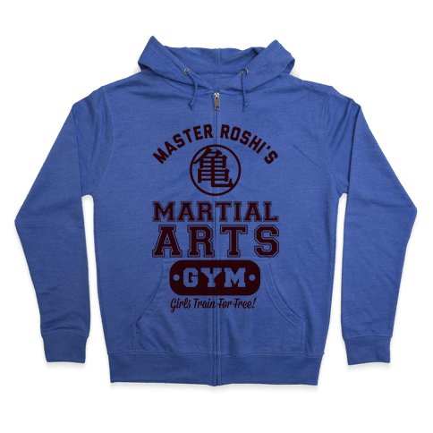 Master Roshi's Martial Arts Gym Zip Hoodie