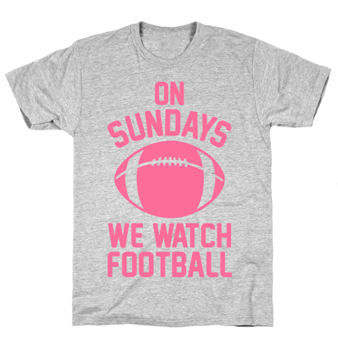 On Sundays We Watch Football