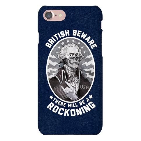 British Beware Phone Case