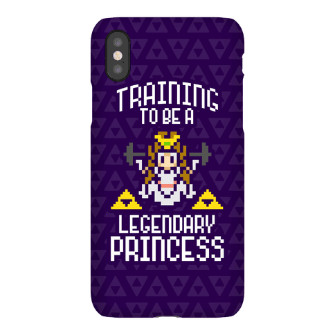 Training To Be A Legendary Princess Phone Case