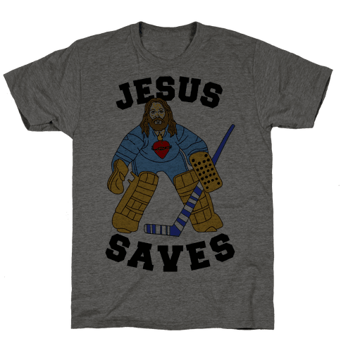 Jesus Saves (Hockey Edition)
