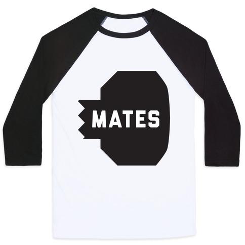 Swole Mates (Mates Half) Baseball Tee