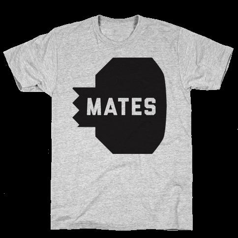 Swole Mates (Mates Half) Mens T-Shirt