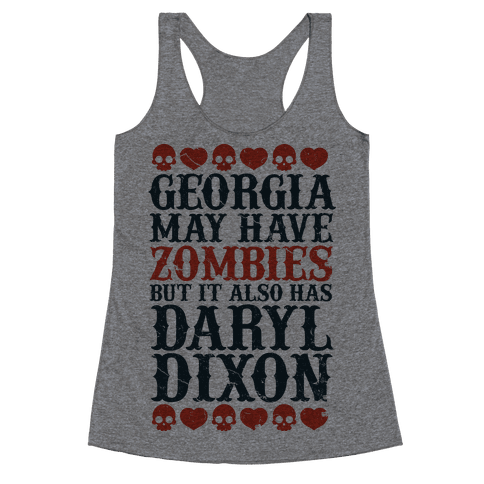 Georgia Has Daryl Dixon Racerback Tank Top