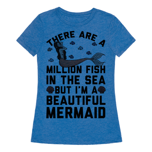 Human there are a million fish in the sea clothing tee for Fish in the sea dating site