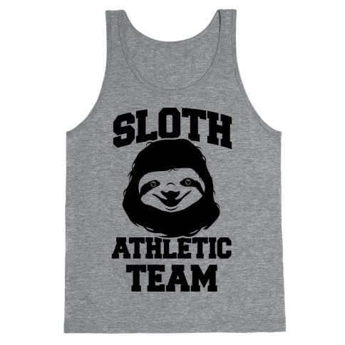 Sloth Athletic Team Tank Top