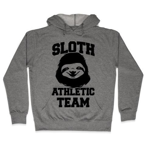 Sloth Athletic Team Hooded Sweatshirt