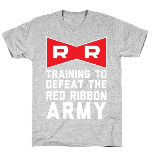 Training To Defeat The Red Ribbon Army T-Shirt