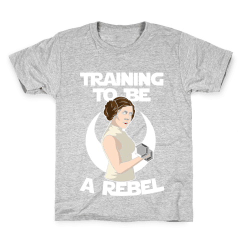 Training To Be A Rebel Kids T-Shirt