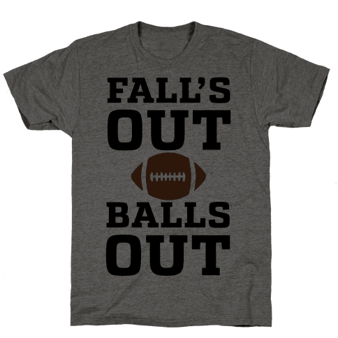 Fall's Out Balls Out (Football)