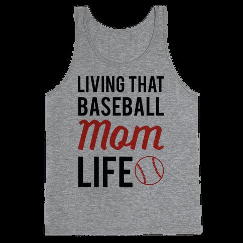 Living That Baseball Mom Life Tank Top
