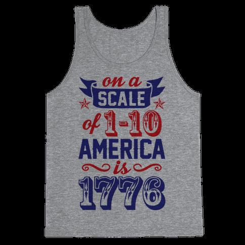 America Is 1776 Tank Top