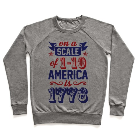 America Is 1776 Pullover