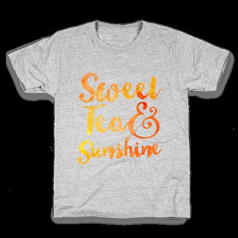 Sweet Tea & Sunshine Kids T-Shirt