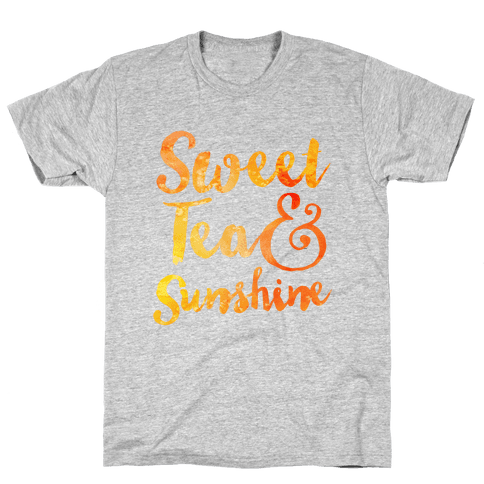 Sweet Tea & Sunshine Mens T-Shirt
