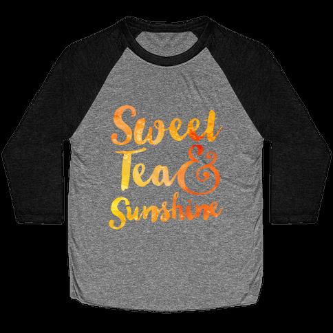 Sweet Tea & Sunshine Baseball Tee